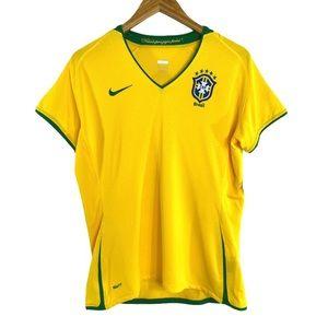 Nike Fit Dry Brasil Futebol Jersey Women's XL
